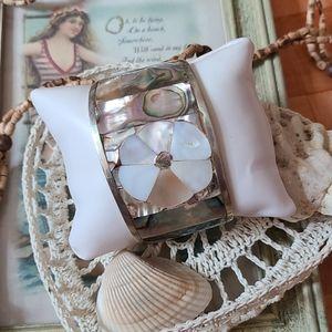 Vintage Abalone Cuff